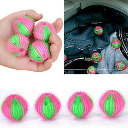 6pc Magic Hair Removal Laundry Ball Clothes Washing Machine Cleaning Bal