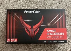 Amd Radeon 6900 Xt Powercolor Red Devil - New And Unopened - Free Shipping