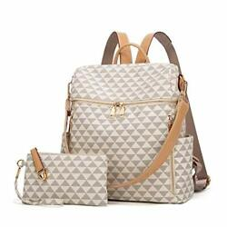 Backpacks for Women Fashion Leather Bags Satchel Bags Anti theft Rucksack L $43.91