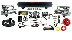 Level Ride Pressure Only Airmaxxx Chrome 580 Air Management W/complete Wire Kit