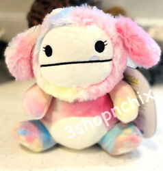 """Squishmallow Zaylee Bigfoot Squeezemallow 7"""" Squeeze Mallow Target Nwt"""
