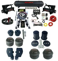 3 Preset Heights Complete Air Ride Suspension Kit Fits 1965-70 Chevy Impala