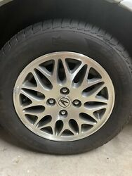 Acura Integra 14 Inch Oem Wheels With Tires Mounted