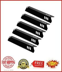5pcs 15 Gas Grill Heat Plate Burner Cover For Backyard, Bhg, Dyna-glo, Uniflame