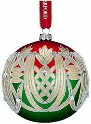 Waterford Holiday Heirlooms Clare 5 Ball Ornament New In Box 40001059