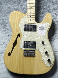Fender De In Japan Traditional 70s Telecaster Thinline -natural- Gg5nb