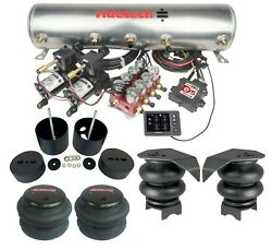 Ridetech 3/8 Ridepro E5 Air Ride Suspension Kit Fits 1999-06 Chevy C15 Truck