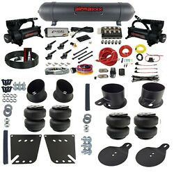Complete Air Ride Suspension Kit With 3 Preset Heights Fits 1958-64 Chevy Impala