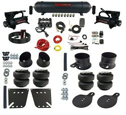 Air Ride Suspension Kit Complete Bolt On Manifold Valve Bags Fits 1958-64 Gm Car