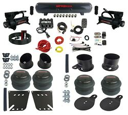 Manifold Bags Steel Complete Bolt On Air Ride Suspension Kit For 1958-64 Impala