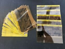 Extremely Rare Collection 600+ Card Caterpillar Microfiche Parts Catalog