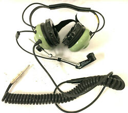 David Clark Headset Behind The Head Amplified Dynamic Microphone H3340 12517g-02