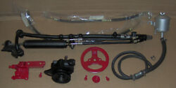 1957 1958 1959 Ford And 1959 Edsel 223 6 Cylinder Power Steering Set Up Complete