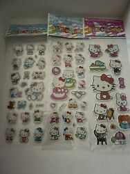 Hello Kitty Collection Hello Kitty Stickers 2 Sheets USA Seller