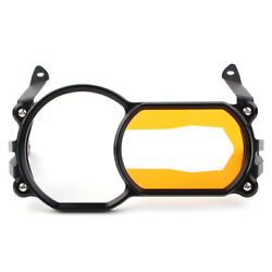 Headlight Lens Protector Guard Cover Gold + Black For Bmw R1200gs Lc Adventure