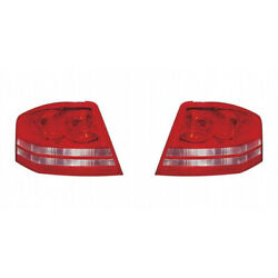 For Dodge Avenger Tail Light Assembly 2008 2009 2010 Pair Lh And Rh Side Capa
