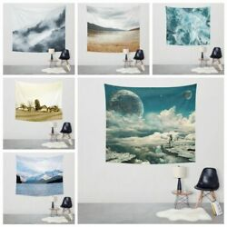 Wall Hanging Decorations Bohemian Tapestry Psychedelic Wall Art for Bedroom