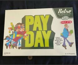 Hasbro Retro Series Payday Board Game, 1975 Edition – Collectible New Sealed