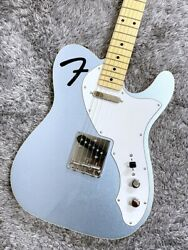 Fender Made In Japan Limited F-hole Telecaster Thinline Mystic Ice Blue Gg3gm