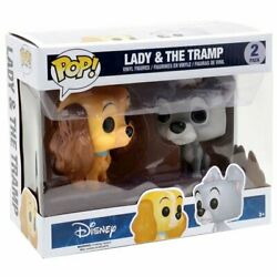 Funko Pop Disney Lady And The Tramp Vinyl Figure 2-pack - Brand New Sealed