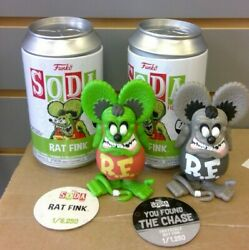 Funko Soda Rat Fink Regular And Chase Variant 1/6250 And 1/1250