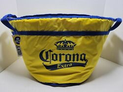 Corona Extra Beer Soft Vinyl Cooler Thermal Insulated Carry Bag Bucket 22x14x13