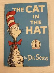 The Cat In The Hat Book Hardcover 1957 Rare