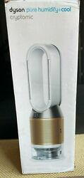 New Dyson Ph02 Pure Humidify + Cool Cryptomic Smart Tower Fan White Light Gold