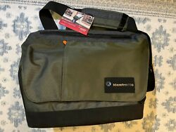 Brand New with Tag Manfrotto Street Messenger Camera Bag Green Gray MS MB IGR $46.00