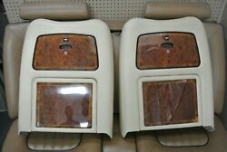 1999-2002 Rolls-royce Silver Seraph Picnic Table Seat Covers Two Pair