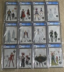 Complete Hellfire Gala 150 Ratio Variants Cgc 9.8 White Pages Incredible Set