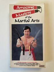 Amazing Masters Of The Martial Arts Rare Vhs Karate Kung Fu Lightning Video Sov