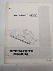 Simplicity 60 Rotary Mower Parts List Book 1690074 9020 4040 4041