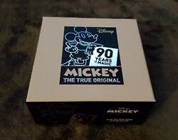 Disney 2018 Niue 90th Anniversary Mickey Mouse Silver Coin Proof And Certificate