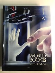 The World Book Encyclopedia 2019 - Complete 22-volume Set - Hardcover - Clean