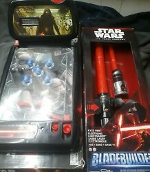 Star Wars The Force Awakens 2015 Tabletop Pinball And Kylo Ren Lightsaber