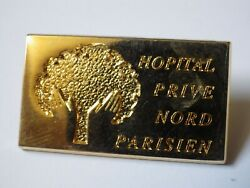 Pinand039s Vintage Lapel Pin Collector Plate Hospitals North Paris Lot F170