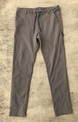 686 Everywhere Multi Shell Slim Fit Pants Brown Menandrsquos 36 X 34