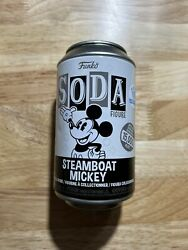 Funko Pop Soda Mickey Mouse Steamboat Exclusive Willie Shop 15000 Common