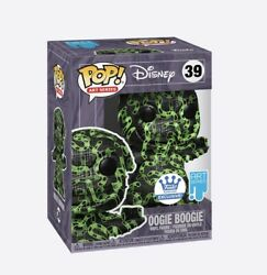Funko Oogie Boogie Green With Pop Protector - The Nightmare Before Christmas