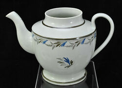 Antique Staffordshire Pearlware Teapot Early 19th Century c 1820