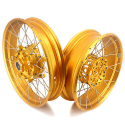 Vmx Racing 3.019/4.517 Tubeless Wheels Set For Bmw R1200gs R1250gs Adventure
