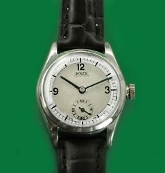 Vintage 1940 Rolex Oyster Manual Wind Antique Boyand039s Size Watch Reference 3122