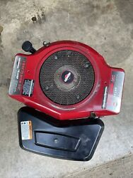 Briggs And Stratton 19.5 Hp Opposed Twin Vertical Shaft Mower Engine Motor 42e707