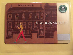 Starbucks Card 2010 Japan Discoveries Milano 6060 Extremely Rare And Limited