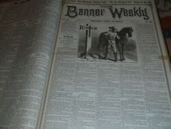 Beadleand039s Banner Weekly 60 Issues Buffalo Bill Story Paper Dime Novel