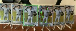 2021 Bowman Lot Anthony Volpe - Neon Green /399 Atomic And Chrome