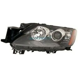 New Lh Halogen Head Light Lens And Housing Fits 2010-2011 Mazda Cx-7 Ma2518133