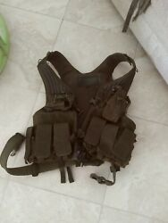 Blackhawk Tactical Military Vest And Pouches Olive Drab