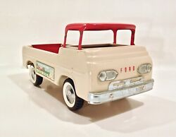 Vintage 1960and039s Nylint Fun On The Farm Ford Econoline Pick Up Metal Truck No 7100